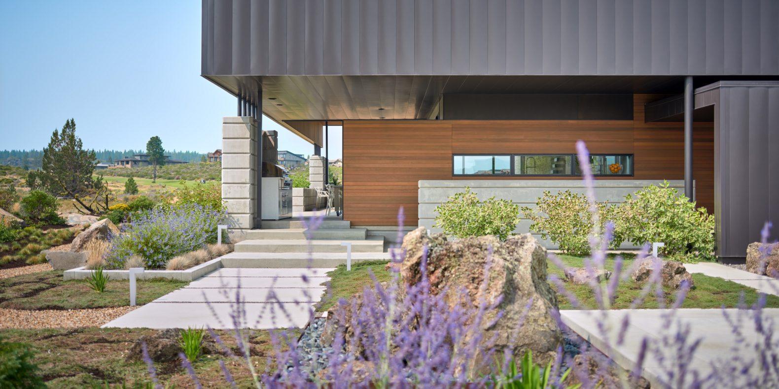 modern landscape design