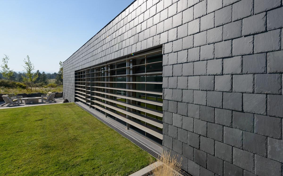 modern slate cladding