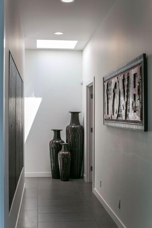 light bright hallway