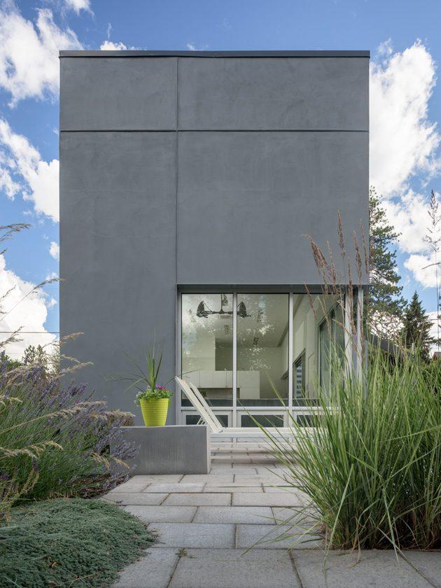 modern exterior small home