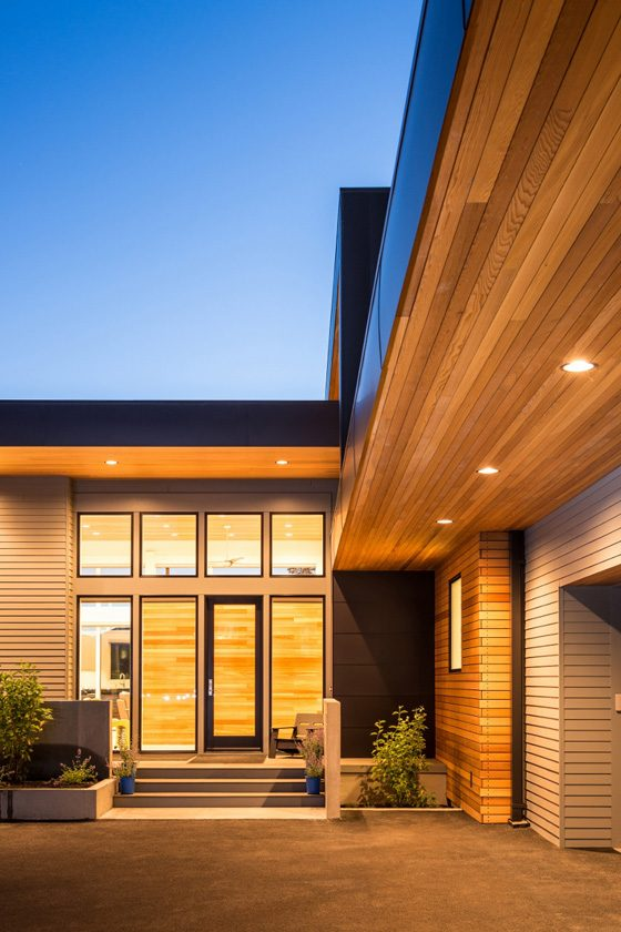 modern architecture entry