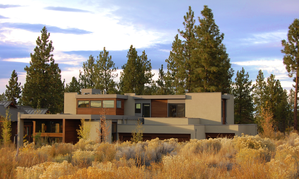 modern architecture high desert